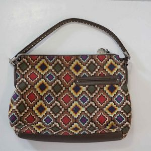 Relic Diamond Pattern Canvas Bag